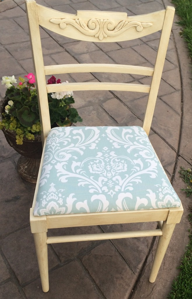 Painted Chair: After