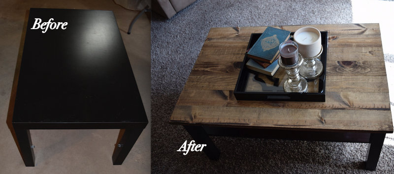 Coffee Table Makeover 2