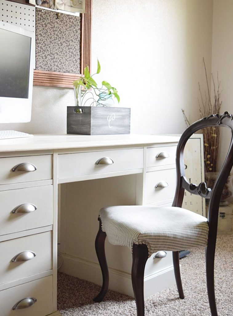 French-style Chair Makeover | Timeless Creations, LLC