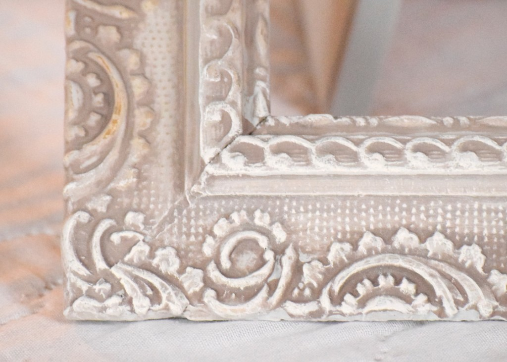 painted antique frame