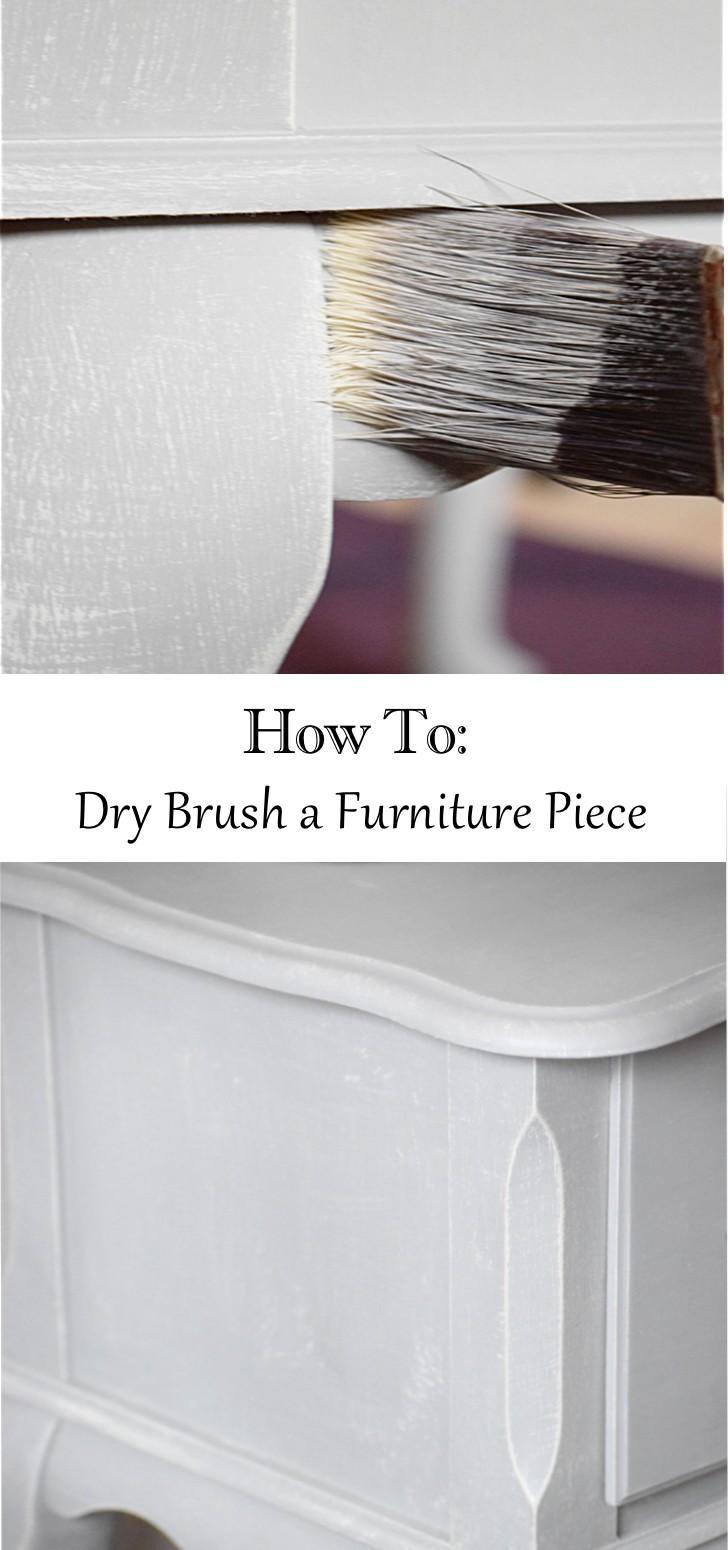 dry brushing technique