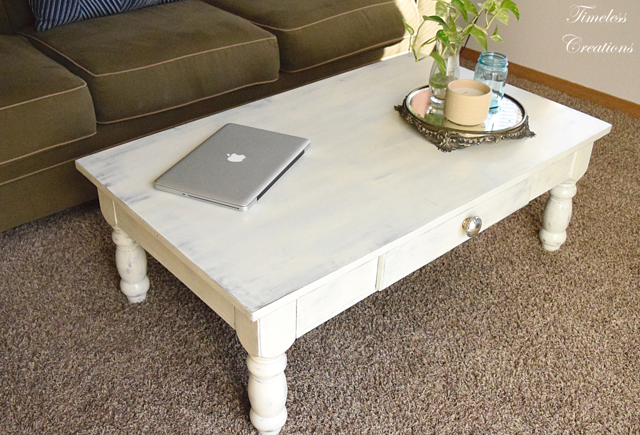 Distressed Coffee Table Timeless Creations