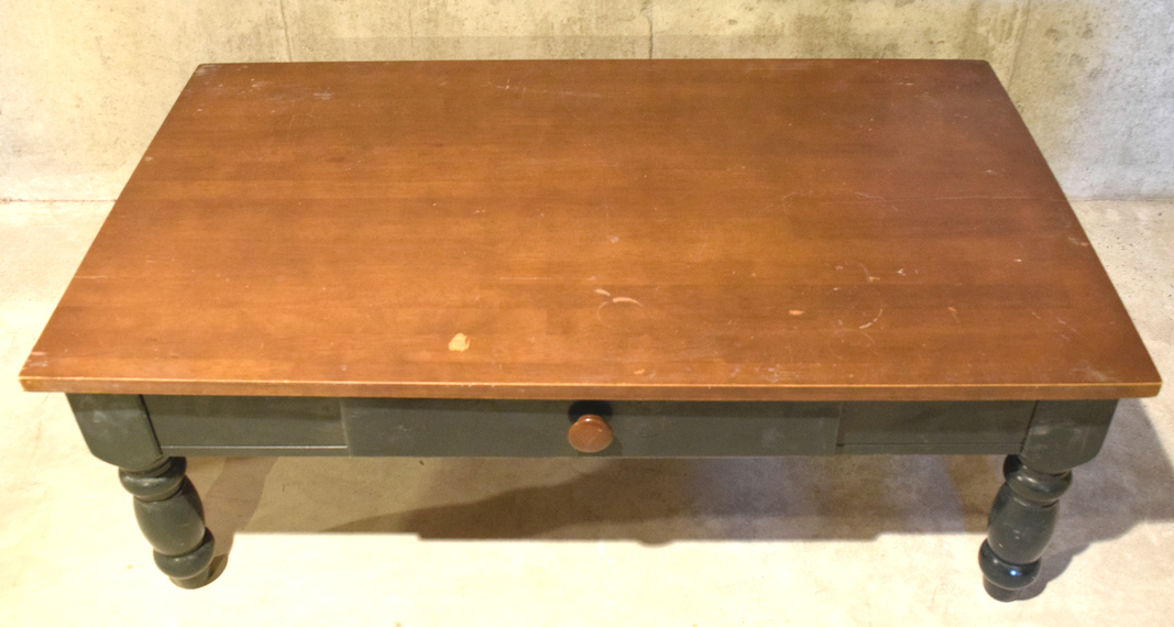 distressed coffee table - timeless creations, llc