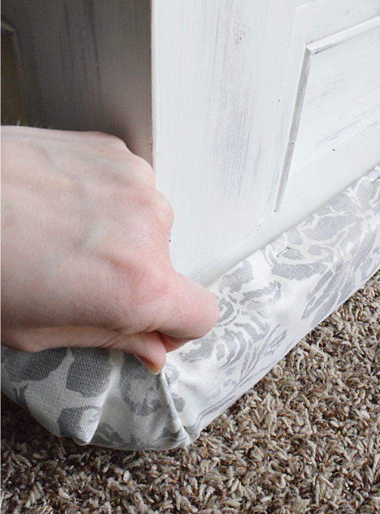 upholstery corner folding