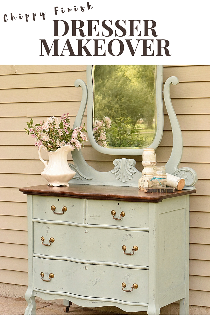 Curved Front Dresser Makeover Timeless Creations Llc