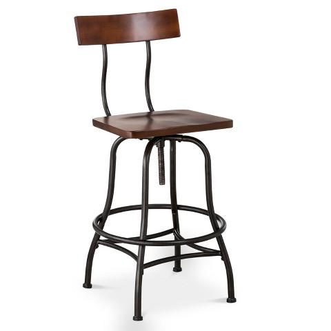 Industrial Farmhouse stool