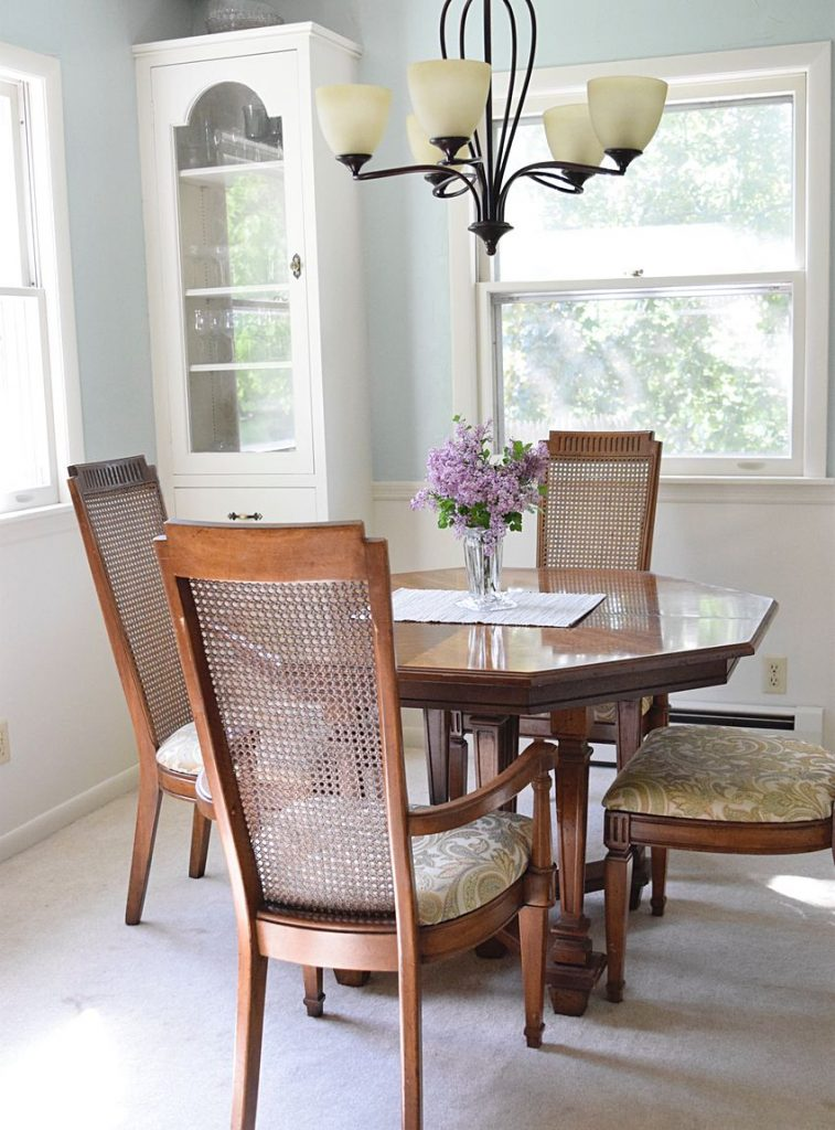makeover a dining room