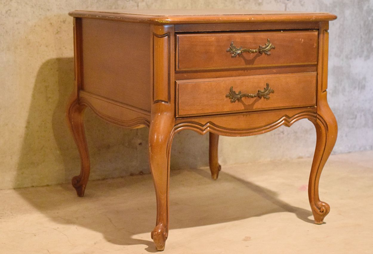 French Nightstand Timeless Creations