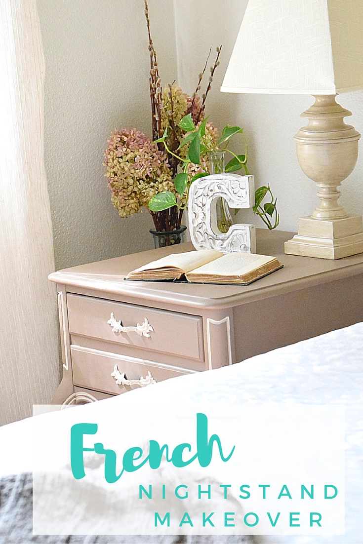 French Nightstand Timeless Creations Llc