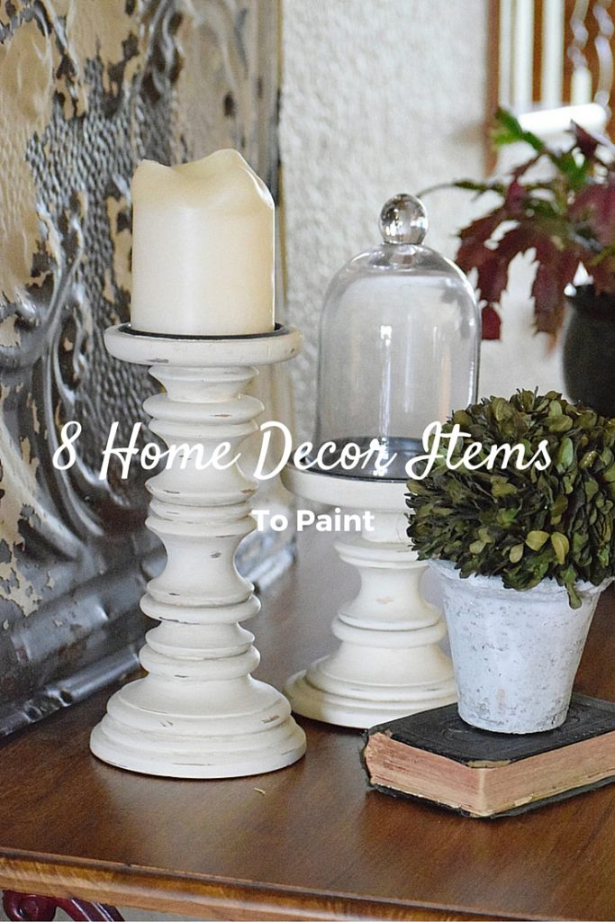 8 Home Decor Items to Paint: for an Updated Look