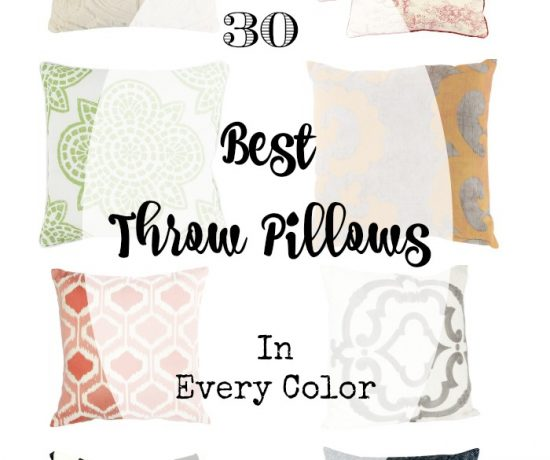 30 of the Best Throw Pillows: In Every Color! | Timeless Creations, LLC
