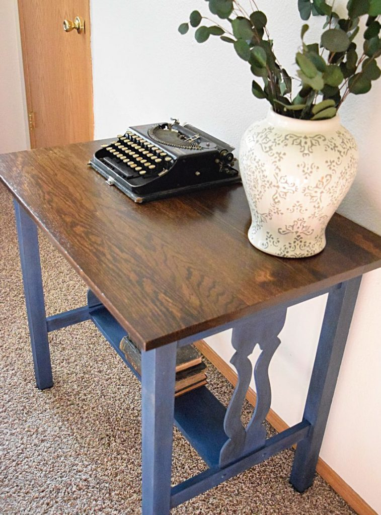 Entry Table gets some new Character | Timeless Creations, LLC