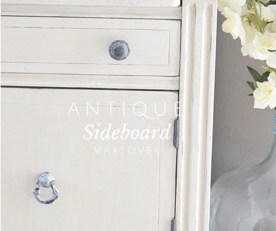 A Run-Down Sideboard turned Bright Beauty   Timeless Creations, LLC