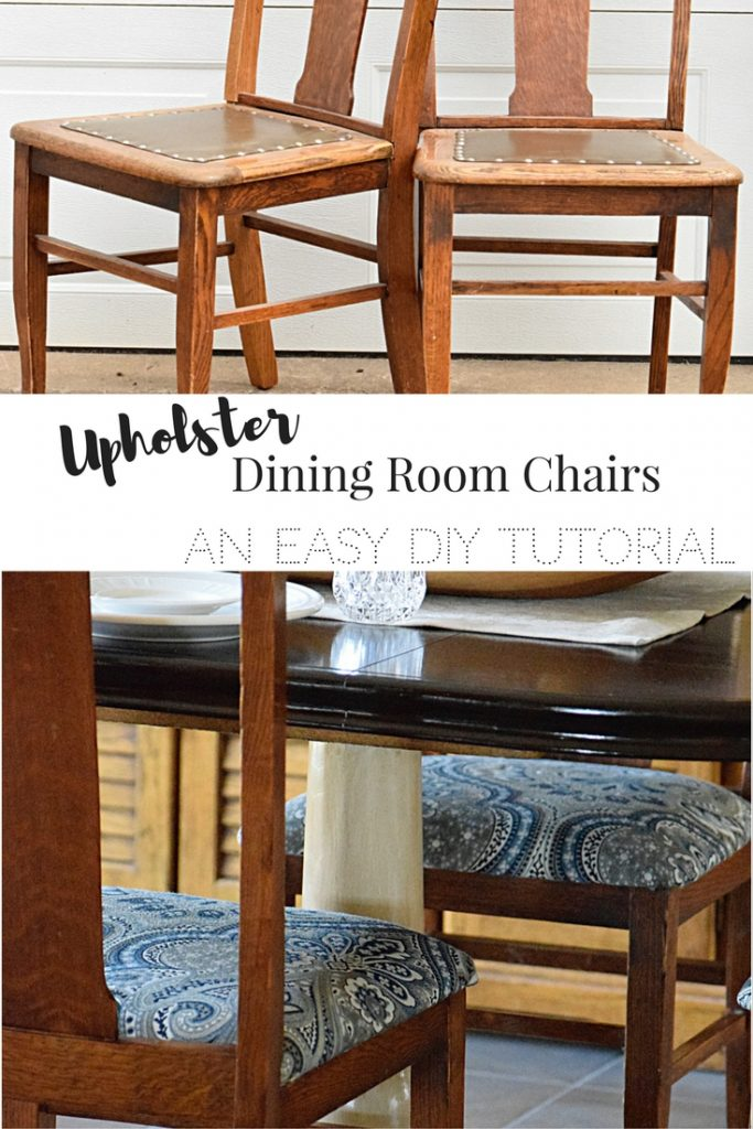 How to upholster dining room chairs | Timeless Creations, LLC