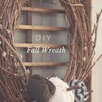 DIY Sweater Pumpkin Fall Wreath | Timeless Creations, LLC