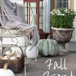 Fall Front Porch Decor + Blog Hop | Timeless Creations, LLC