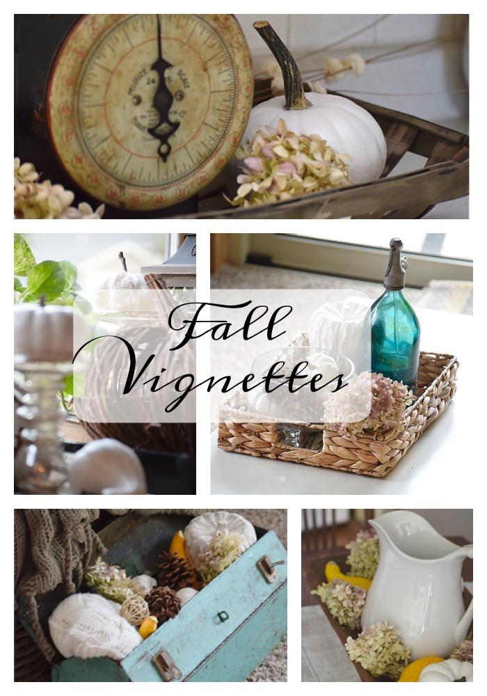 Fall Vignette Inspirations | Timeless Creations, LLC