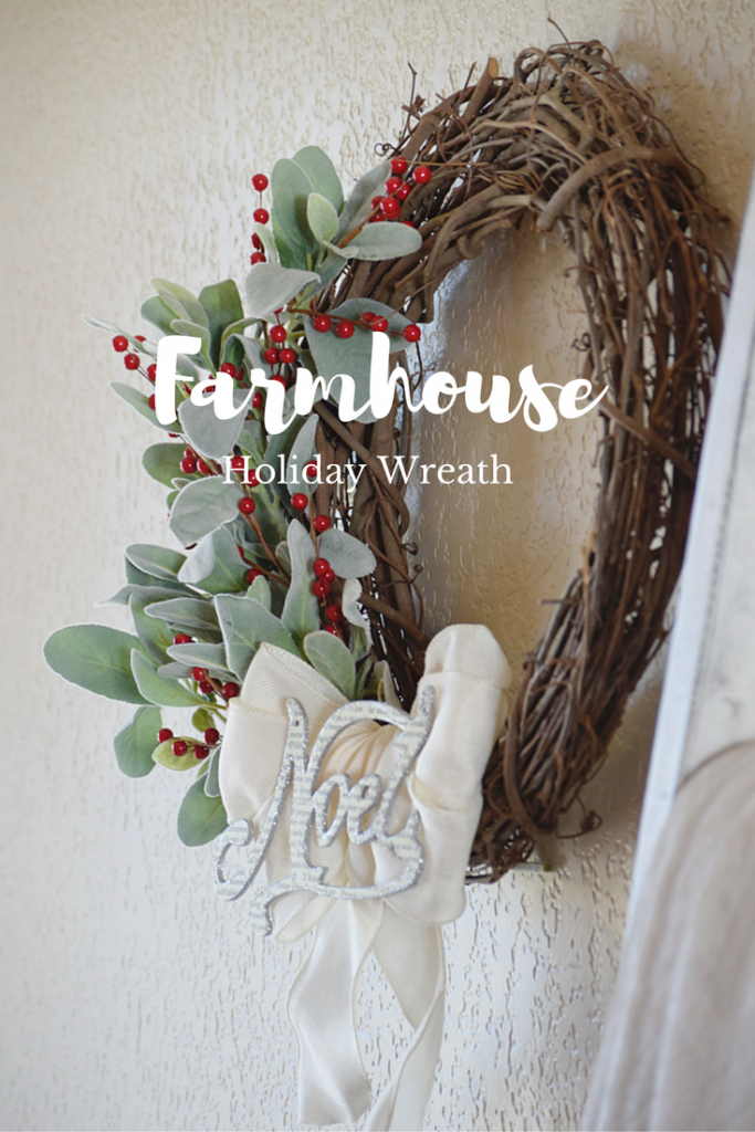 Farmhouse Holiday Wreath & Blog Hop | Timeless Creations, LLC