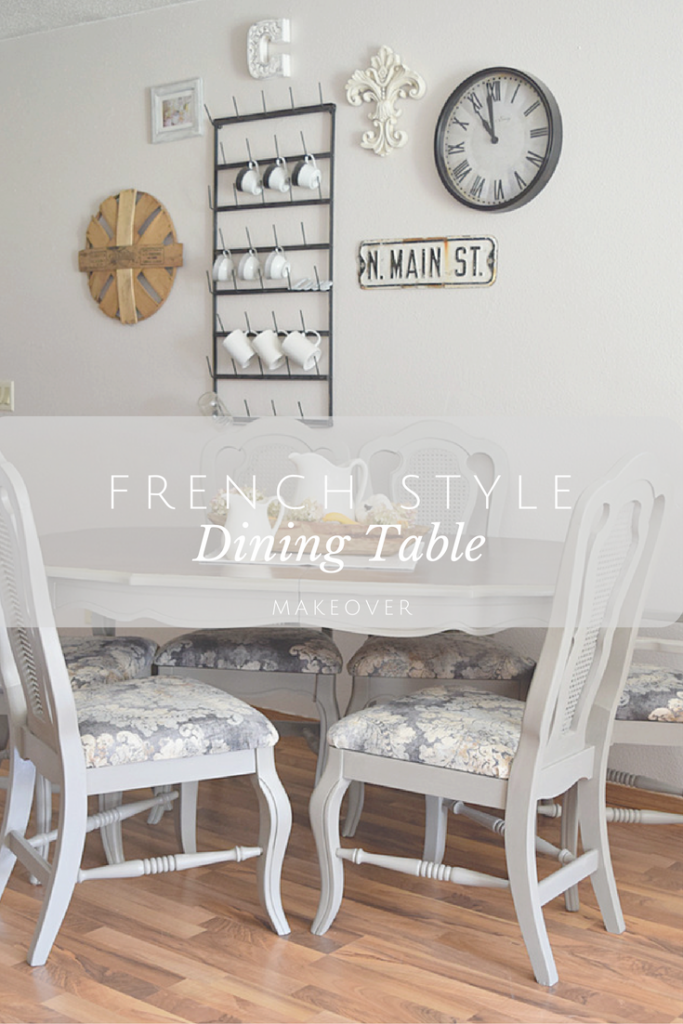 French-Style Dining Set | Timeless Creations, LLC