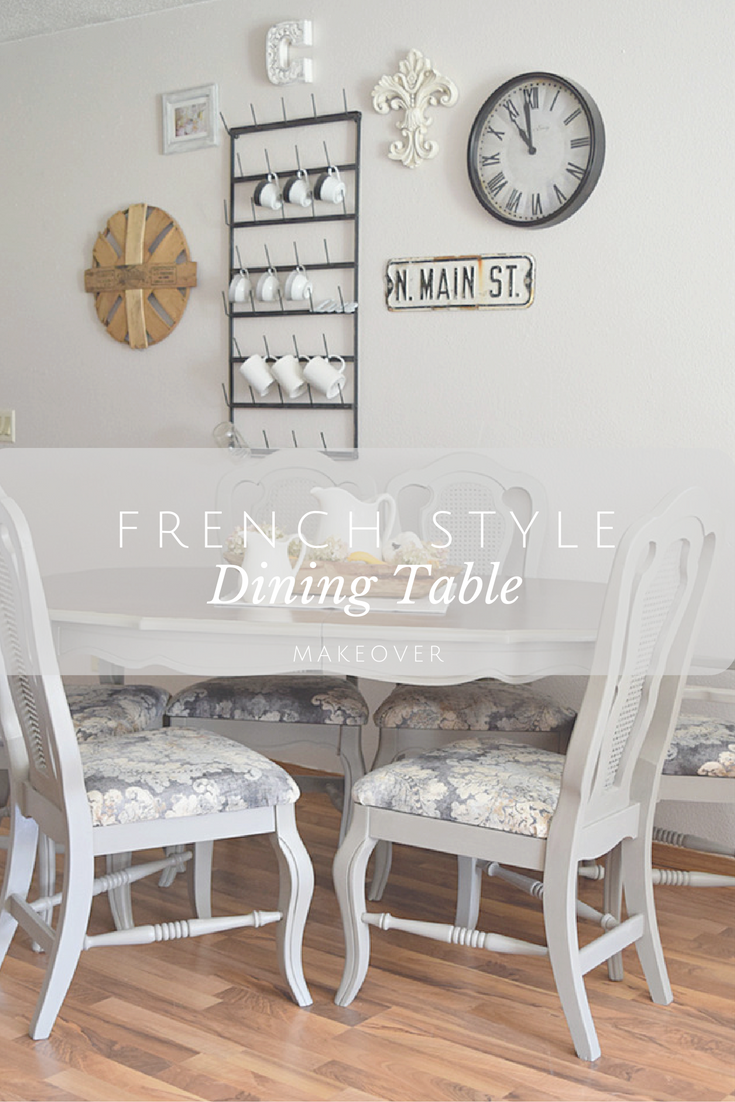 French Style Dining Set | Timeless Creations, LLC