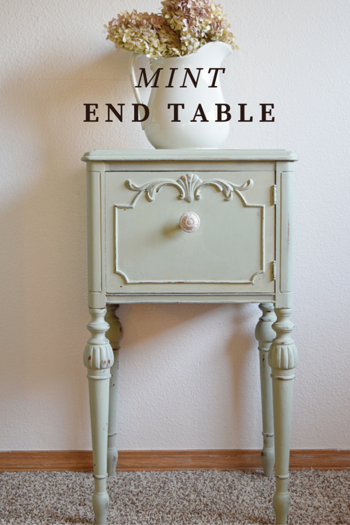 Mint End Table | Timeless Creations, LLC
