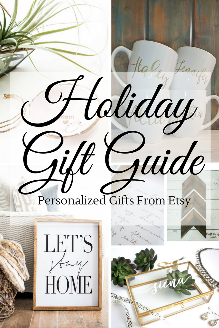 Custom Home Decor Gifts From Etsy | Timeless Creations, LLC