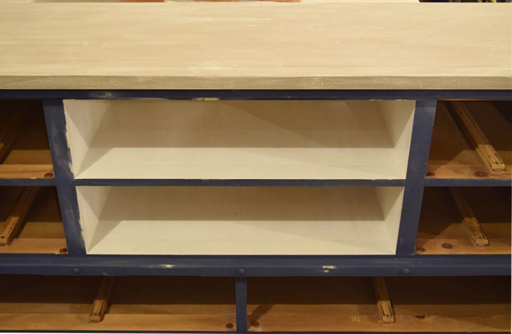 Old Dresser turned TV Console | Timeless Creations, LLC