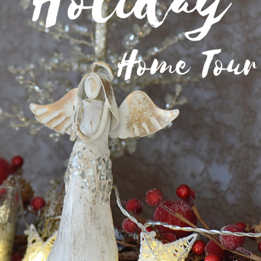 Christmas Home Tour 2016: Simply Seasonal Holiday Hop | Timeless Creations, LLC