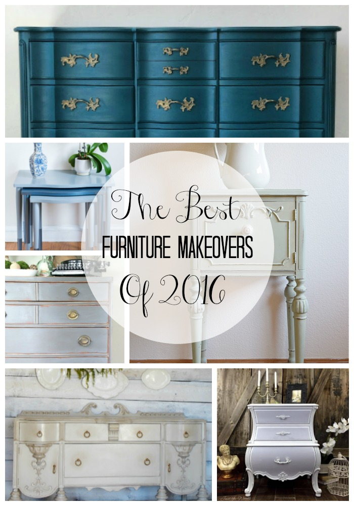 The Best Furniture Makeovers Of 2016 Timeless Creations