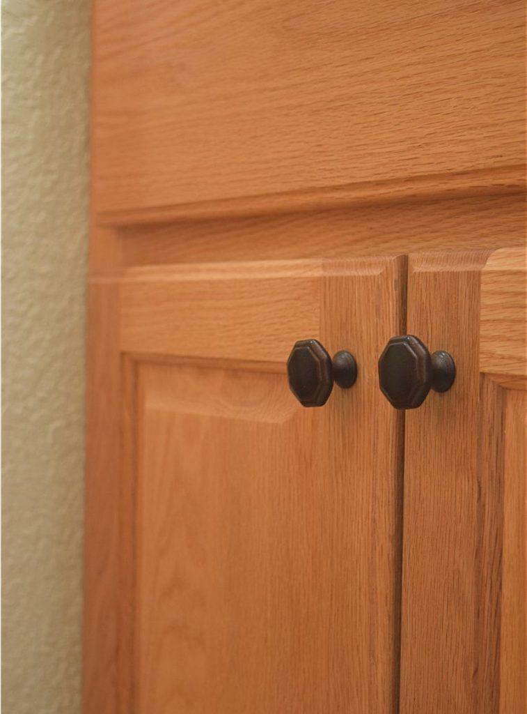 DIY Bathroom Shelf & Towel Hooks: $100 Room Challenge 11