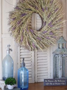 Places to Hang a Wreath that's NOT on the Door! 7