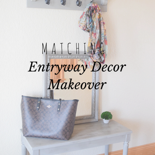 Entryway Decor Makeover