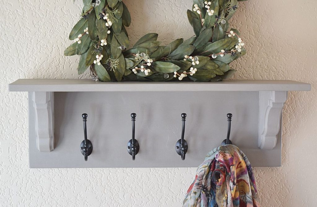Matching Entryway Decor: Bench, Shelf, and Mirror 2