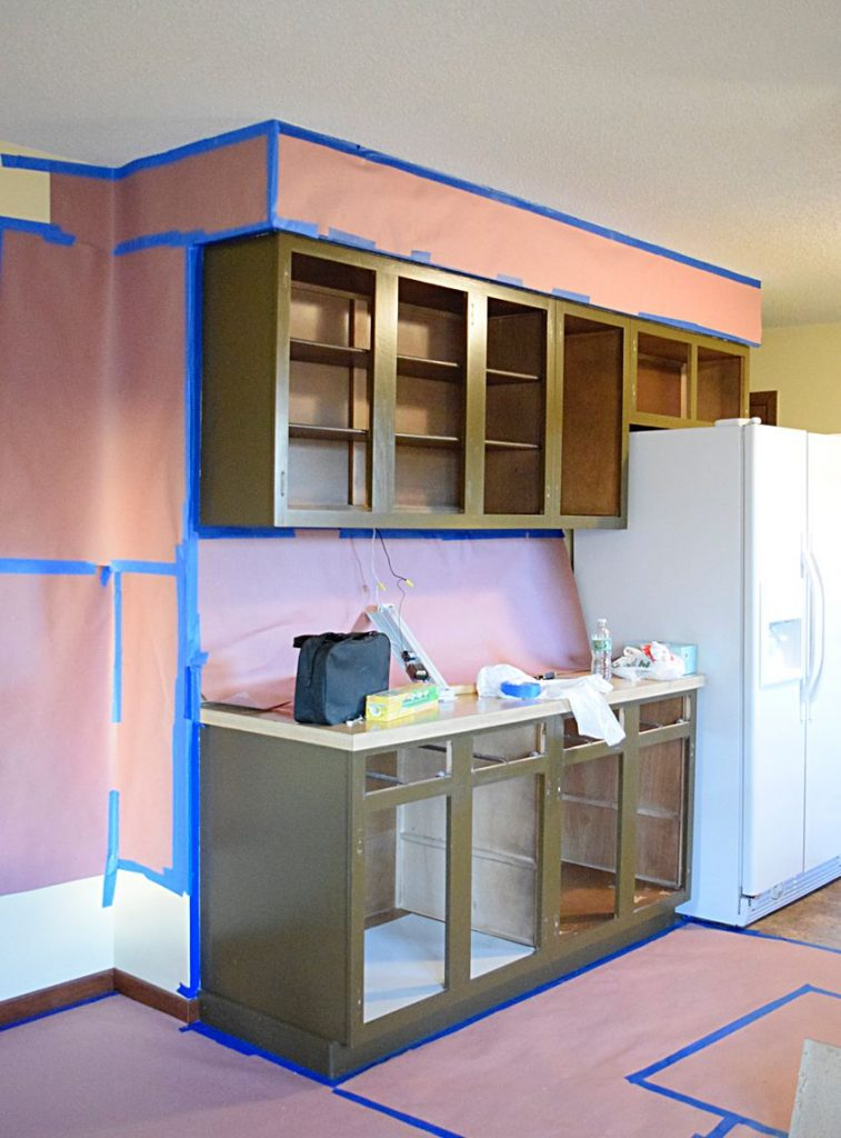 Painting Our Kitchen Cabinets: ORC Week 2 7