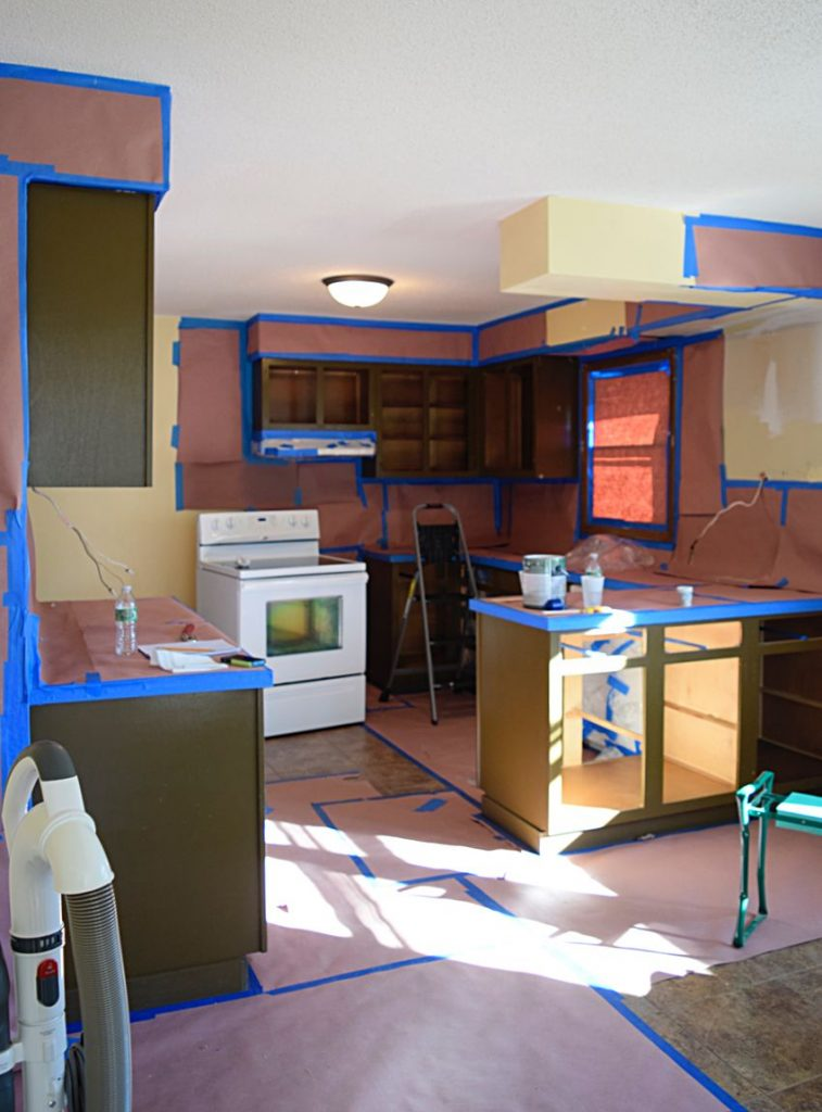 Painting Our Kitchen Cabinets: ORC Week 2 6