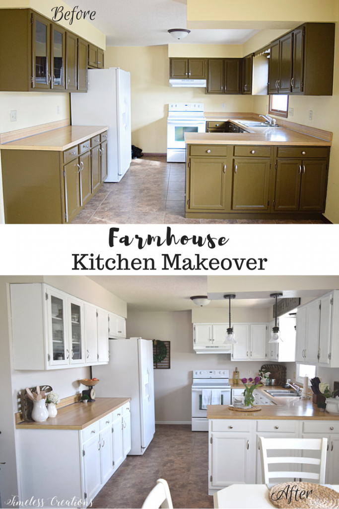 Kitchen Makeover Reveal - One Room Challenge