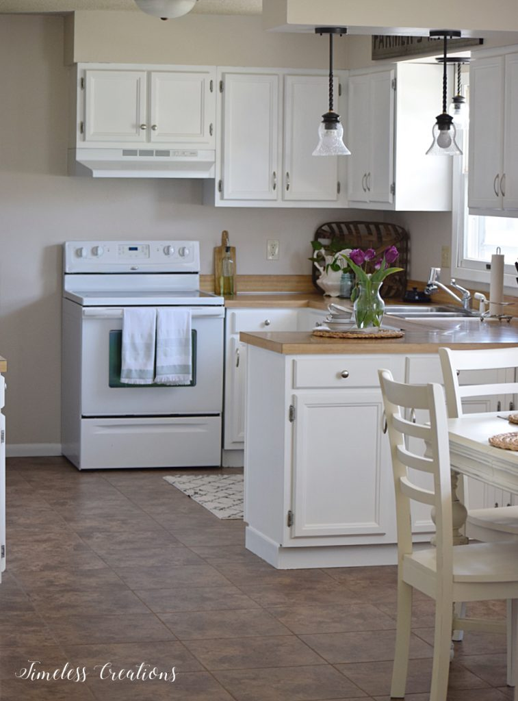 kitchen makeover reveal one room challenge week 6 timeless