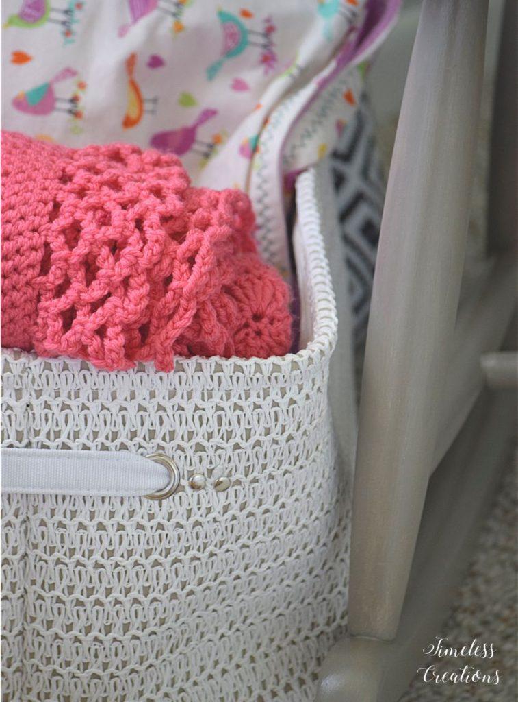 Baby Girl's Nursery Reveal 11