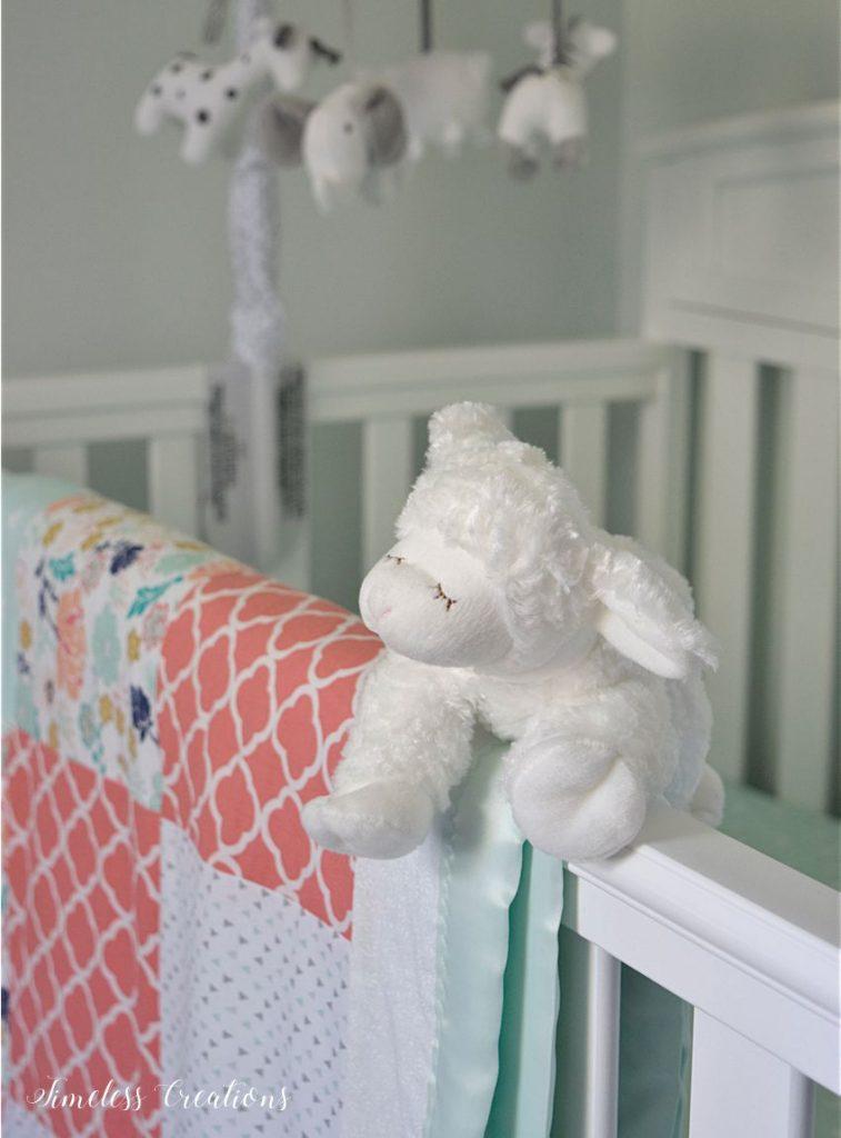 Baby Girl's Nursery Reveal 7