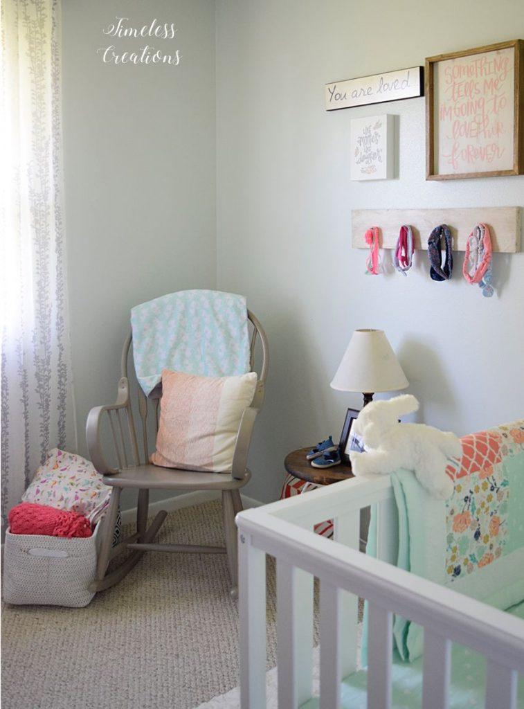 Baby Girl's Nursery Reveal 4