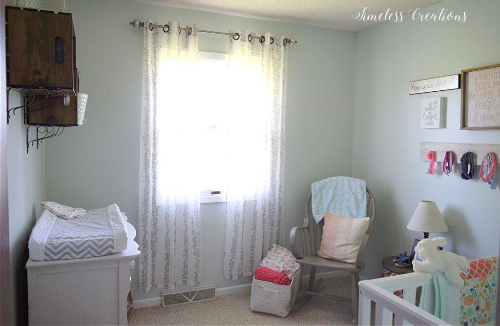 Baby Girl's Nursery Reveal 3