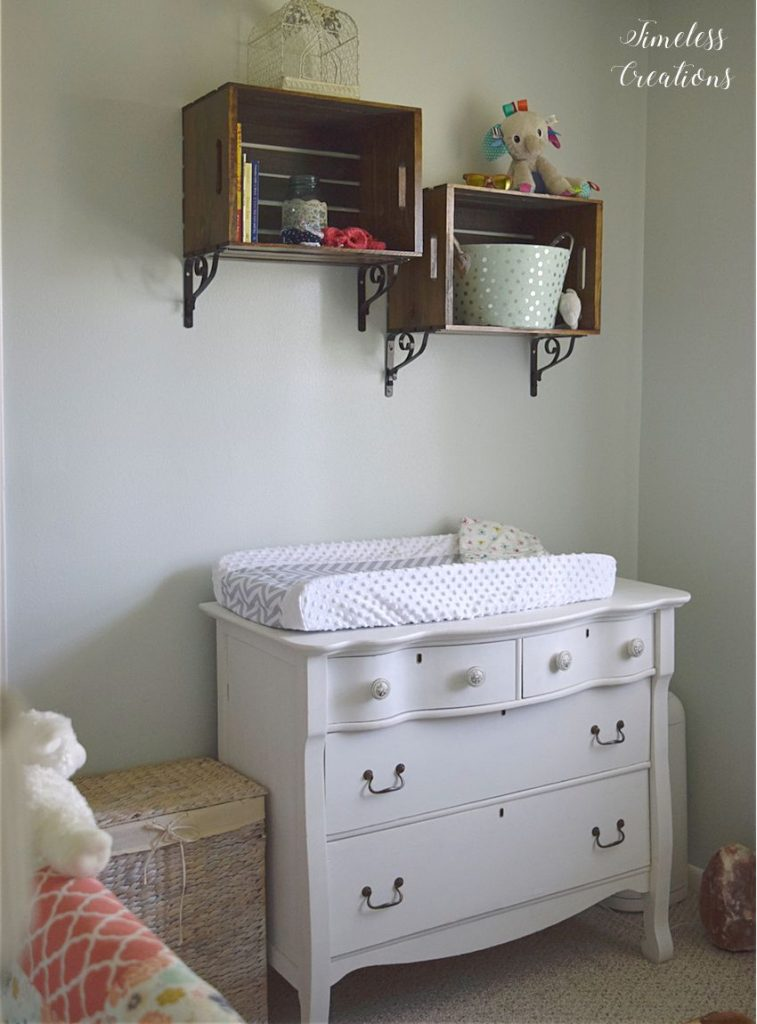 Baby Girl's Nursery Reveal 13