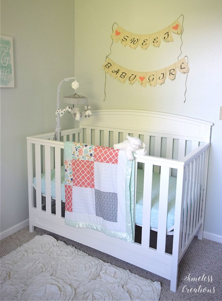 Baby Girl's Nursery Reveal 6
