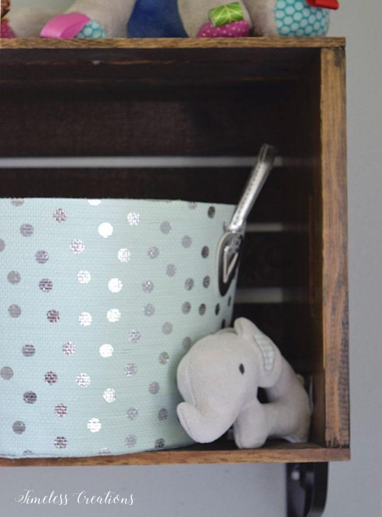 Baby Girl's Nursery Reveal 15