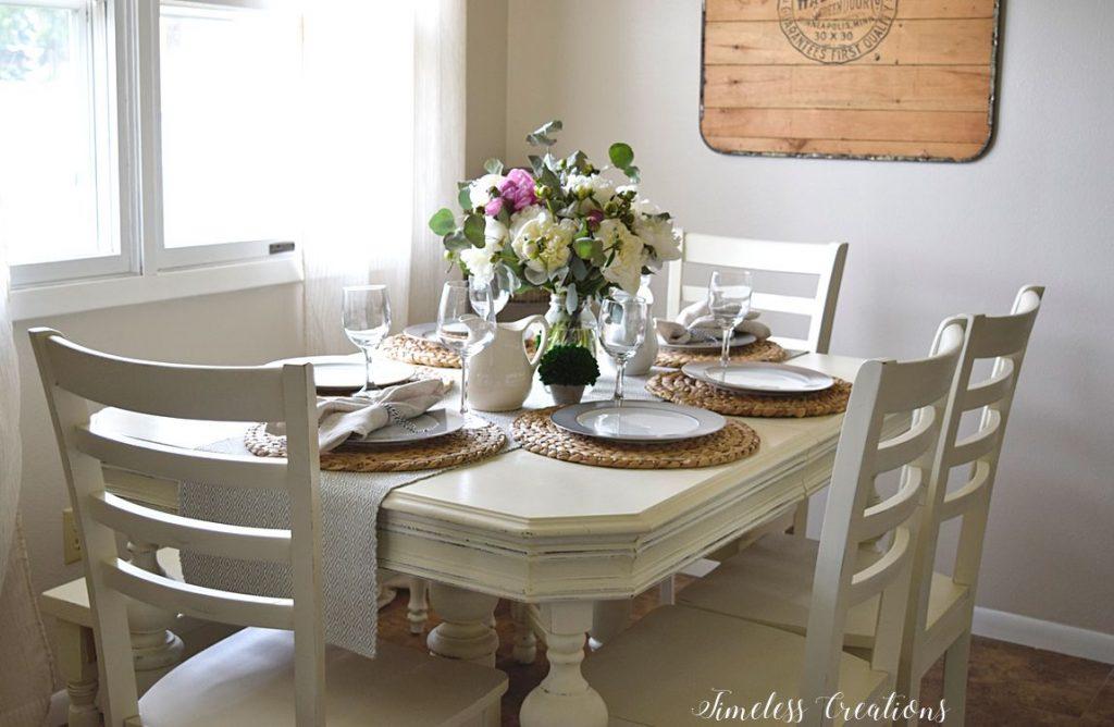 Impromptu Summer Tablescape 3