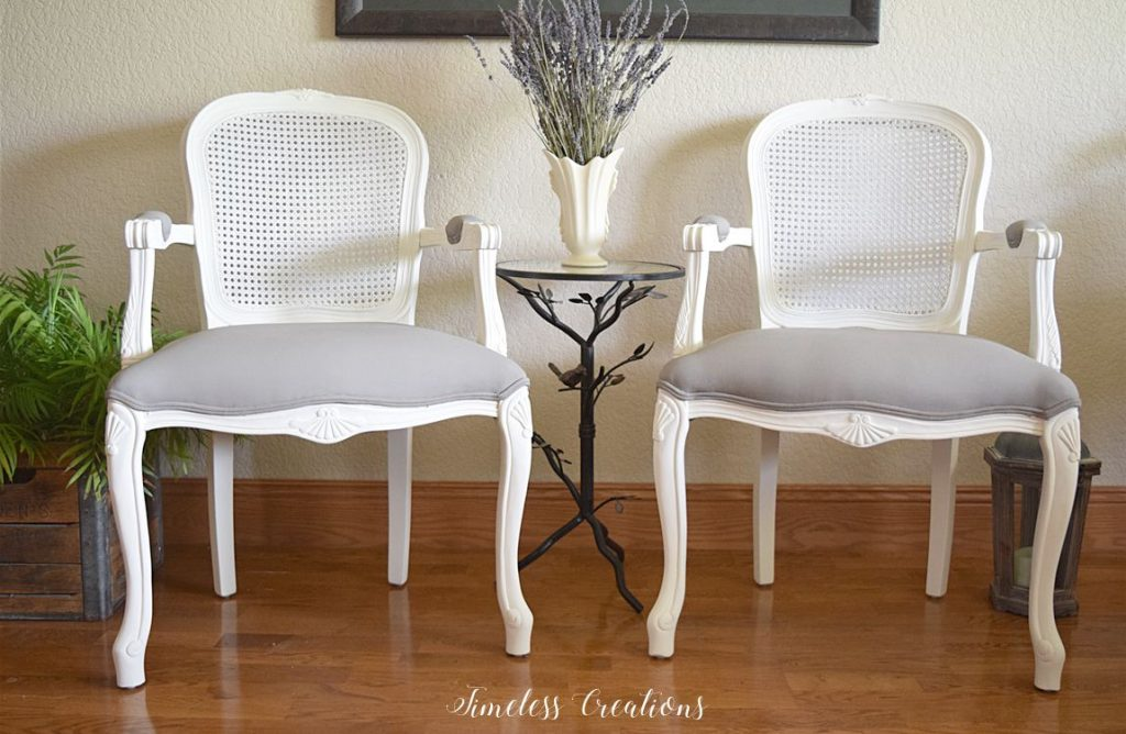 French Style Chair Makeover - $100 Room Challenge Week 3 7