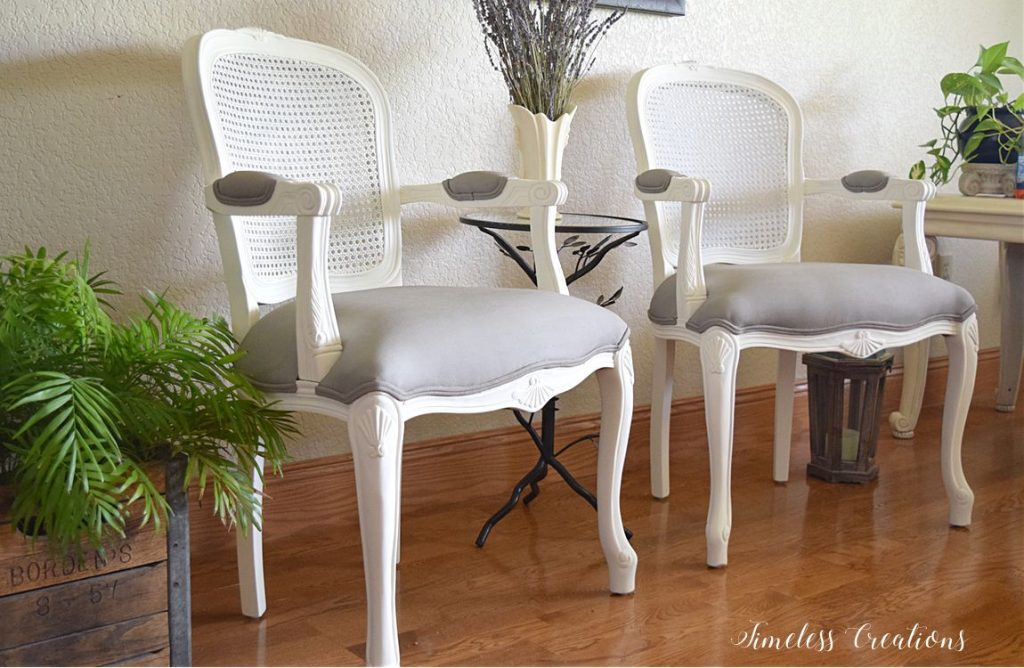 French Style Chair Makeover - $100 Room Challenge Week 3 11
