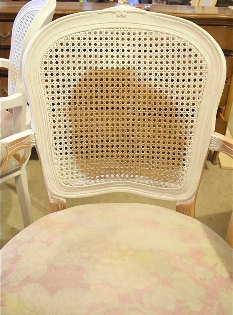 French Style Chair Makeover - $100 Room Challenge Week 3 4