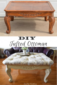 DIY Curved Pediment on Small Washstand 17