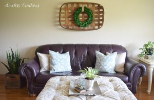 Places to Hang a Wreath that's NOT on the Door! 6